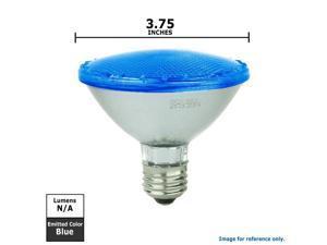 SUNLITE 5w PAR 30 92LED, Blue Medium Base Bulb