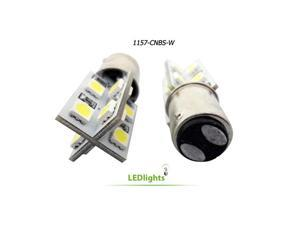 White 1157 LED Lights Brake/Park/Signal CanBus