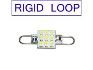 Rigid Loop White LED Bulb