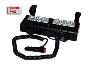 LED Police Strobe Light Visor Strobe Red/Blue