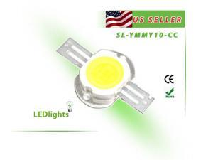 10W LED Yellow Light High Power Component Chip DIY 10 Watt 250 lm USA