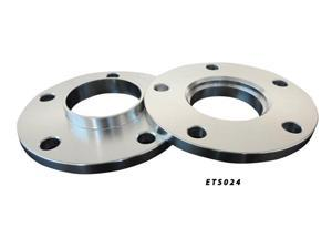 Aluminum Wheel Spacers Adapter Pair 5x114.3 66.2 10mm
