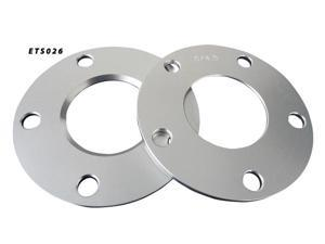 Aluminum Wheel Spacers  5x114.3 66.2 5mm Adapter Pair