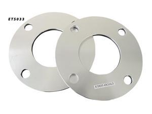 5mm Aluminum Wheel Spacers  4x114.3 66.2 Adapter Pair (ETS033)