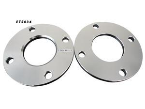 4x114.3 66.2 10mm Aluminum Wheel Spacers Adapter Pair (ETS034)