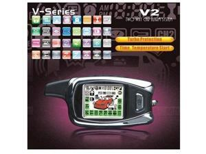 LCD Remote Car Alarm and Start V Series (SPY-V2)