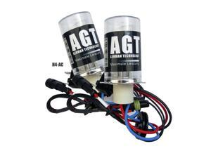 H4 Premium HID Xenon Bulbs 10K BLUE *Pair by AGT