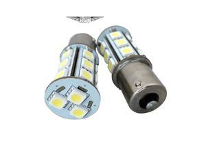 Pair of 1156/1141/1003 RV/Camper LED Interior Bulb BA15s -COOL WHITE-