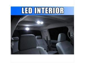 Bright WHITE 18pc LED Interior Lights Package for Hummer H2 2003-2006