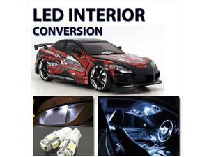Bright WHITE LED Lights Interior 7pc Kit for Mazda RX8  2003-2008