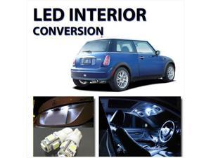 AGT Super WHITE SMD LED Lights (7pcs) Interior Package Mini Cooper 2002-2006