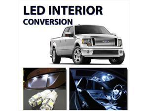 FORD F-150 2004-2009 WHITE INTERIOR LED LIGHT BULB KIT (11pc Kit)