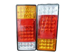 Pair* of 12V LED Tail Lights - High Brightness LEDs