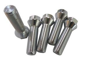 14x1.5 40mm Extended Wheel Bolts Lug Chrome Conical M14