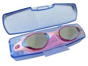 Pink Swimming Goggles Non-Fogging Anti UV Adjustable Swim Glasses - OEM