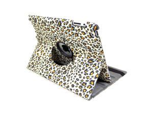 Leopard Pattern Leather 360 Folio Stand Protection Case Cover For Apple iPad 2 3 4 Tablet
