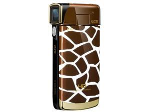 DXG Luxe 1080p Camcorder with 4x Digital Zoom - Giraffe Pattern