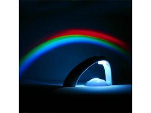 Romantic LED Rainbow Projector Color Night Lamp Light II #6862#
