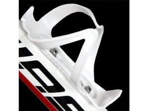 White Plastic Bicycle Water Drink Bottle Holder / Cage / Rack #9462#