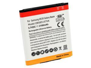 2100mAh 3.7V Reolacement Li-ion Battery Pack for Samsung Galaxy Beam GT-i8530