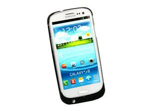 2200 mAh Battery Charger Power Bank Black Case Cover For Samsung Galaxy S3 I9300