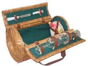 Sutherland Cannon Picnic Basket for 2