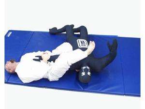 I&I Sports Blue Grappling Man Dummy Wrestling Jiu Jitsu NHB MMA 6' Judo Full contact ground fighting