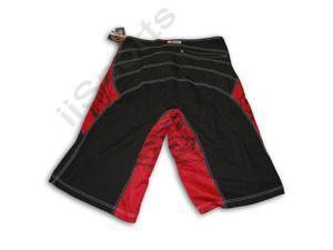 Evil Mens Baggy Board Shorts Black/Red 2XL boys teen surf beach 2 extra large FS