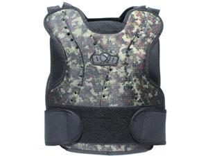 Mil Sim Digital Green Camouflage Paintball Airsoft Chest Protector Guard Vest