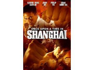Once Upon A Time In Shanghai Wong Ching Po DVD