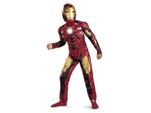 Boy's Iron Man 7 Muscle Costume