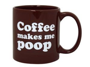 Coffee Makes Me Poop Mug