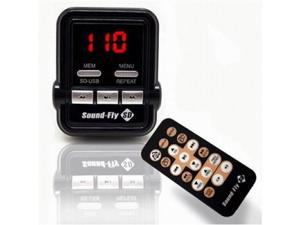 Soundfly SD WMA/MP3 Player Car Fm Transmitter for SD Card, USB Stick, Mp3 Players (iPod, Zune)