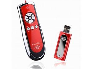 SP400 Smart-Pointer (Red) 2.4Ghz RF Wireless Presenter with Mouse Function and Laser Pointer