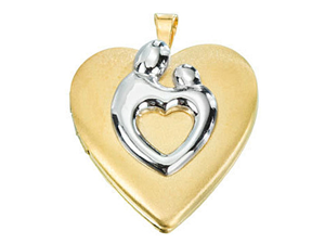 An Elegant Mother Child Locket