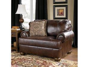 Axiom Walnut Chair and 1/2 by Ashley Furniture