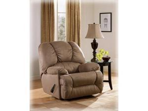 Duraplush Mocha Signature Rocker Recliner by Ashley Furniture