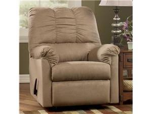 Developer - Mocha Rocker Recliner by Ashley Furniture