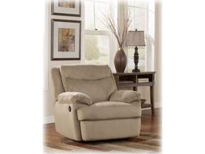 Crinkle Plush Cocoa Rocker Recliner by Ashley Furniture