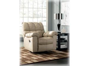 Max Chamois Swivel Rocker Recliner by Ashley Furniture
