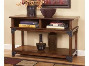Murphy Sofa Table/Console in Medium Brown Finish