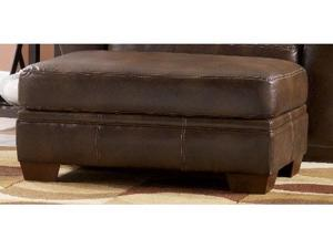 Del Rio DuraBlend Sedona Leather ottoman by Ashley