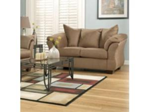 DARCY MOCHA LOVESEAT BY ASHLEY