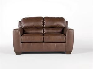 Durablend Bark Loveseat By Ashley