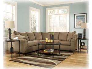 Darcy Mocha Sectional Set