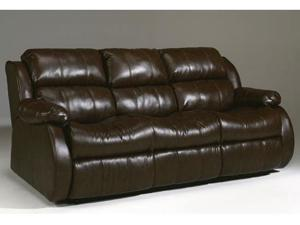 Ashley Furniture DuraBlend - Cafe Reclining Sofa w/ Dual Massage 2220089
