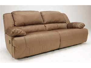 Hogan - Mocha 2- Seat Reclining Sofa by Ashley Furniture