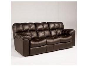 Max - Chocolate Reclining Sofa by Ashley Furniture