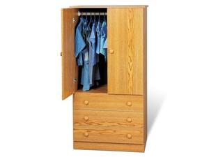 Oak 3-Drawer Wardrobe By Prepac