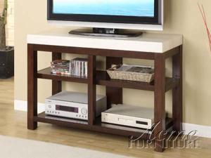 Kyle Faux Marble Top TV Stand